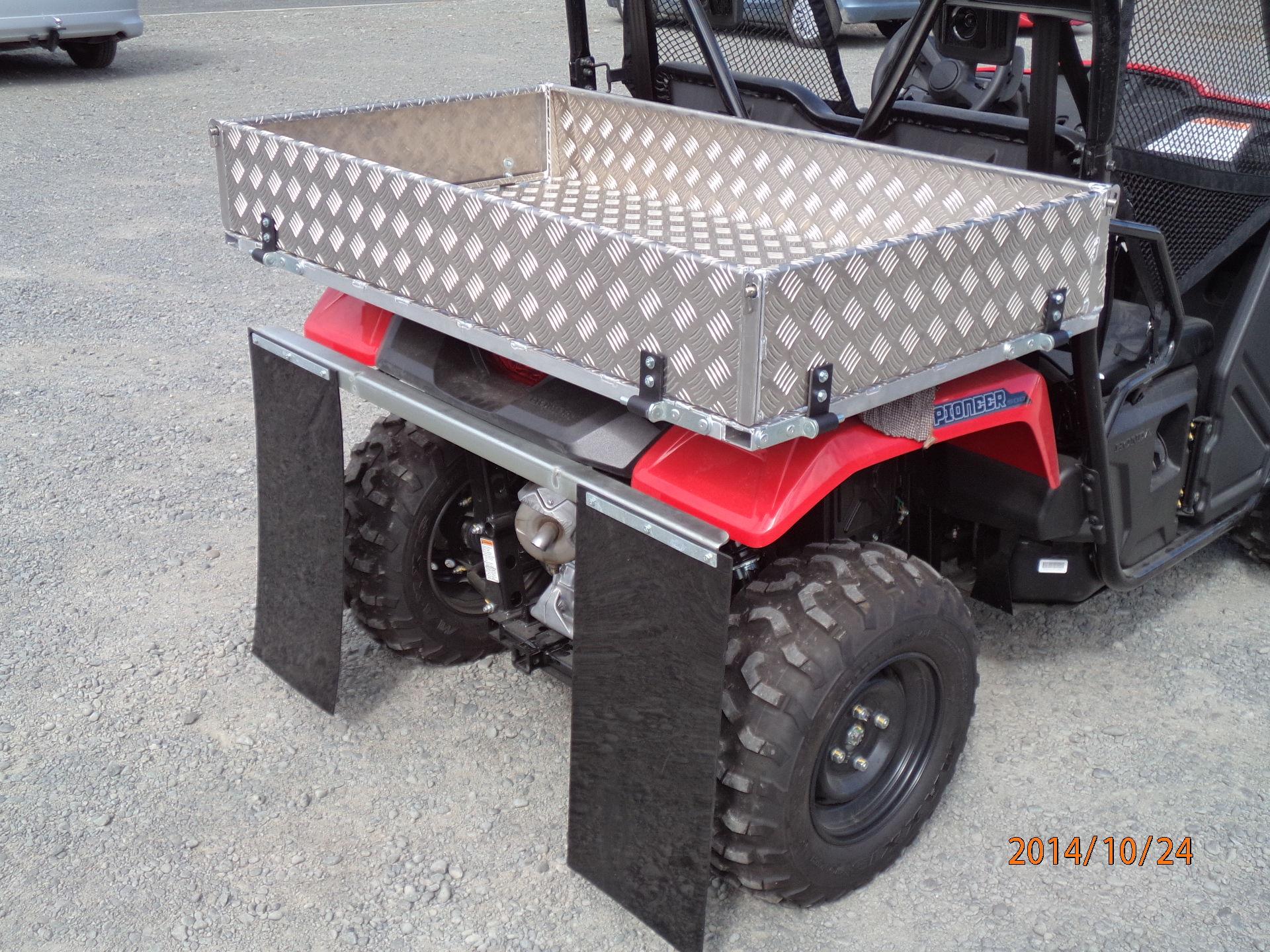 honda sxs 500 pioneer bullbar  u0026 accessories